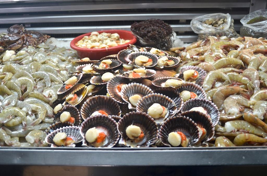 Surquillo Market seafood vendor