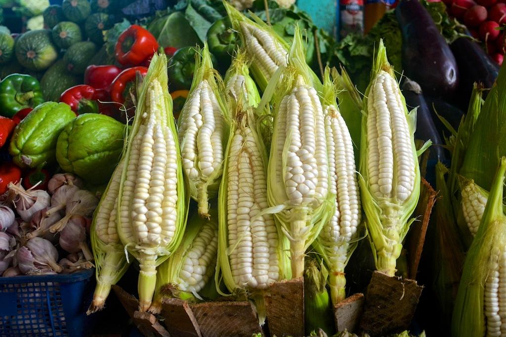 Surquillo Market corn