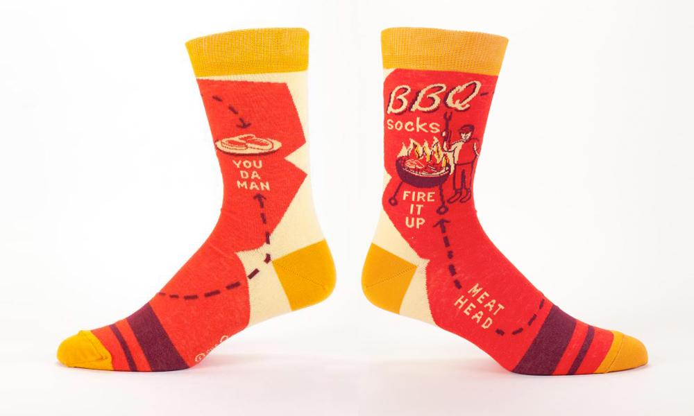 blue q bbq socks