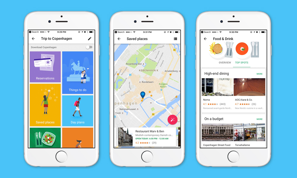 google trips app