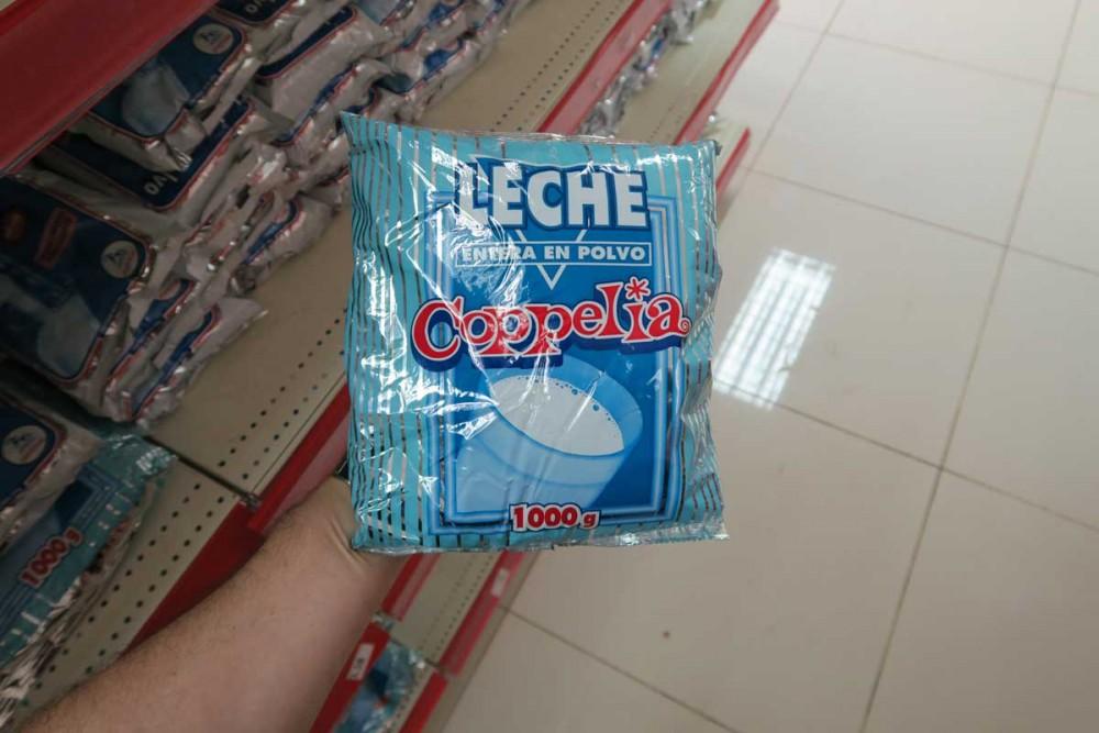 Supermarket in Cuba
