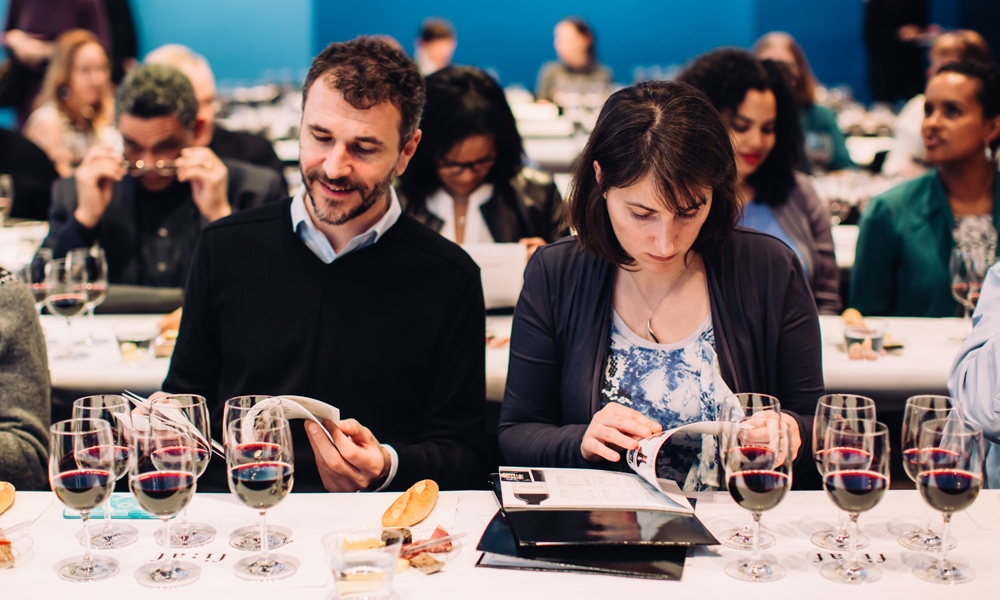 FIAF Wine Tasting's The Vintage Effect Class