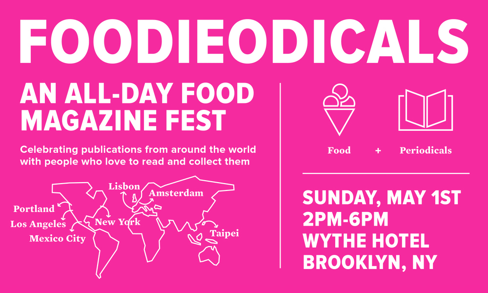 Foodieodicals 2016