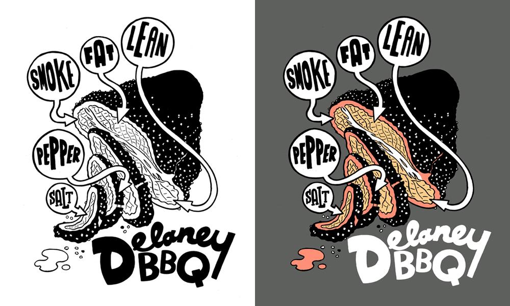 Delaney BBQ T-Shirt