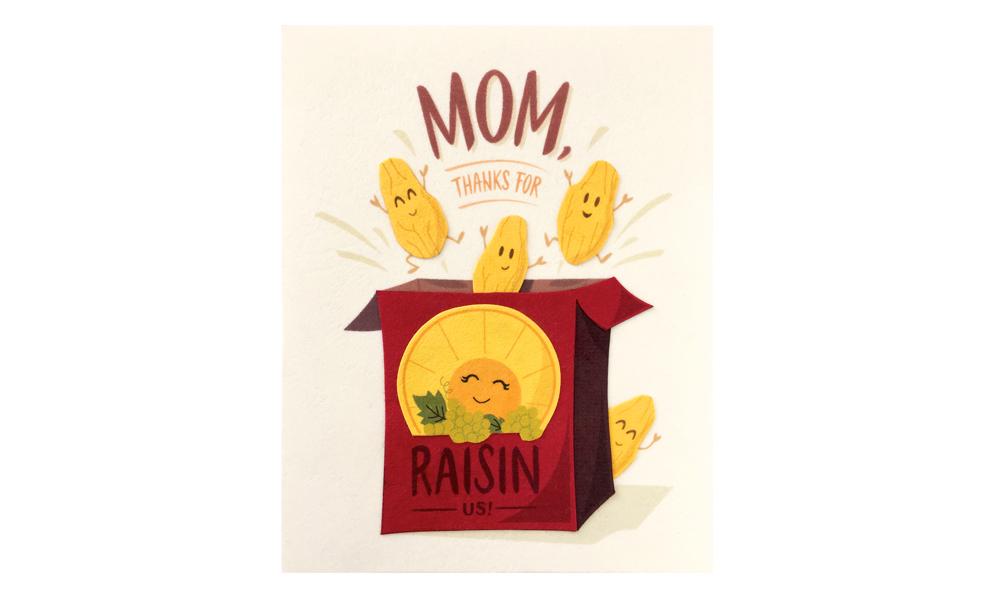 Thanks for raisin us card