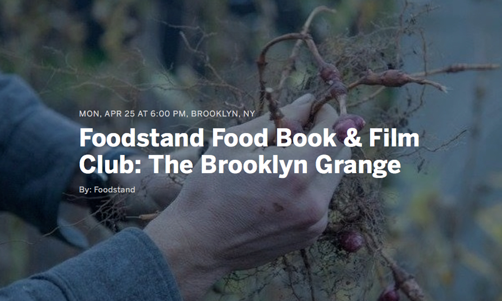 brooklyn farmer screening