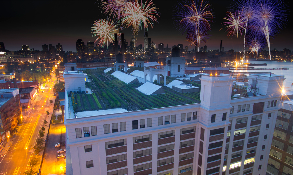 brooklyn grange fireworks