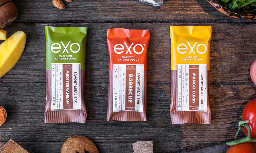 Exo Cricket Flour Protein Bars
