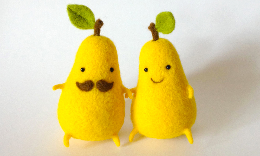 felted-food-friends-pears