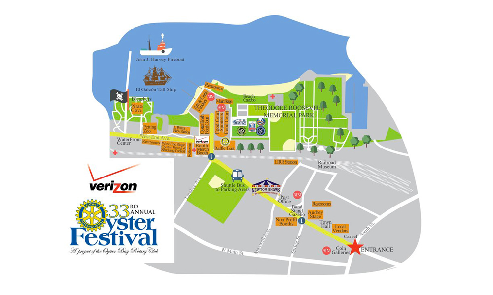 oyster festival map