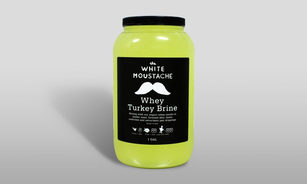 white mustache turkey brine