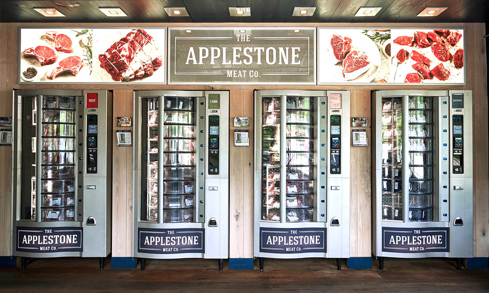 Applestone meat vending machine