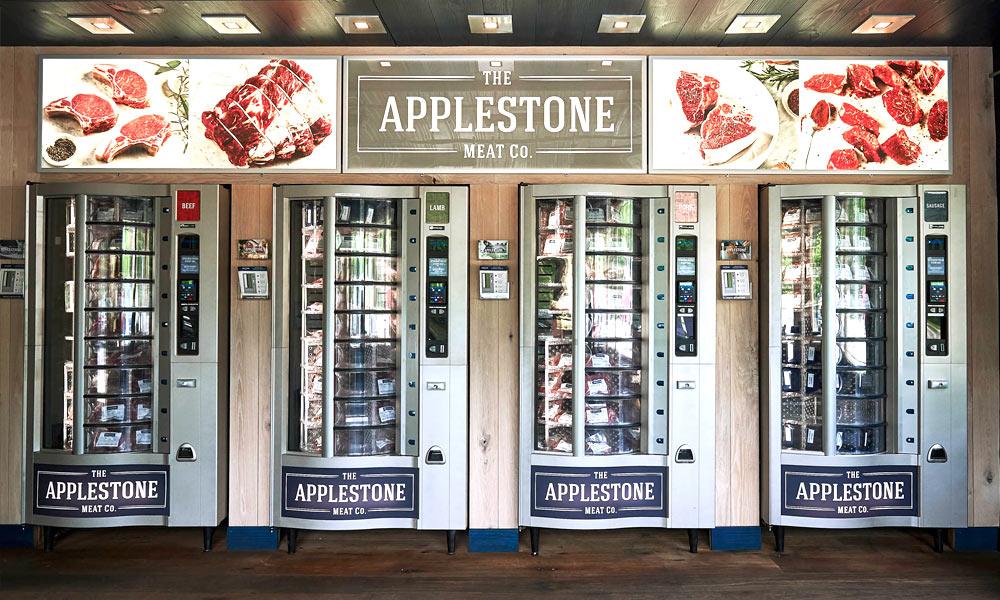 Applestone meat vending machine