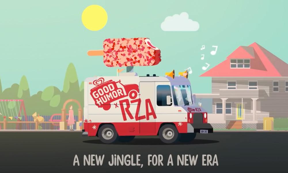 Good Humor X RZA Ice Cream Truck Jingle