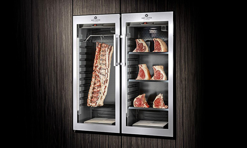 dry age meat from dryager