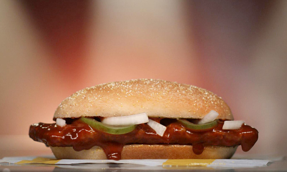 mcdonalds mcrib sandwich
